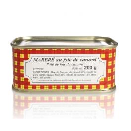 Marbré au foie de canard