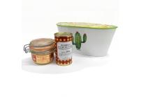 Corbeille ovale Cactus