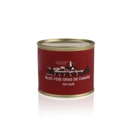 Bloc de foie gras de canard mi-cuit