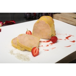 Barre de foie gras de canard entier mi-cuit