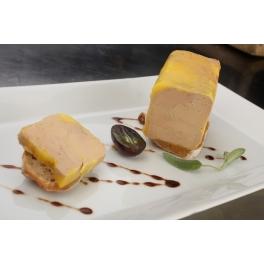 Bûchette de foie gras de canard entier mi-cuit