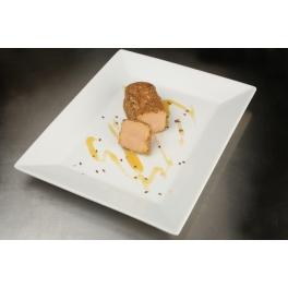 Bûchette de foie gras de canard entier mi-cuit au sésame