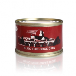 Block of goose's foie gras