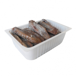 Duck wings preserved in fat