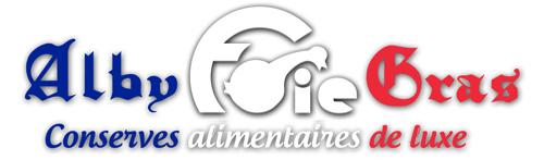logo alby foie gras bleu blanc rouge