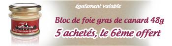 promo bloc de foie gras