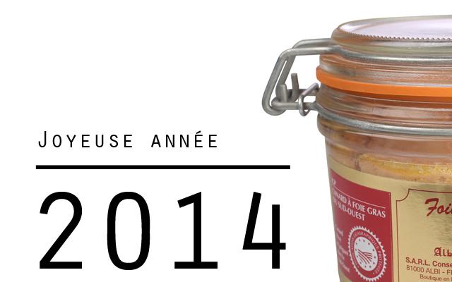 Voeux 2014 alby foie gras