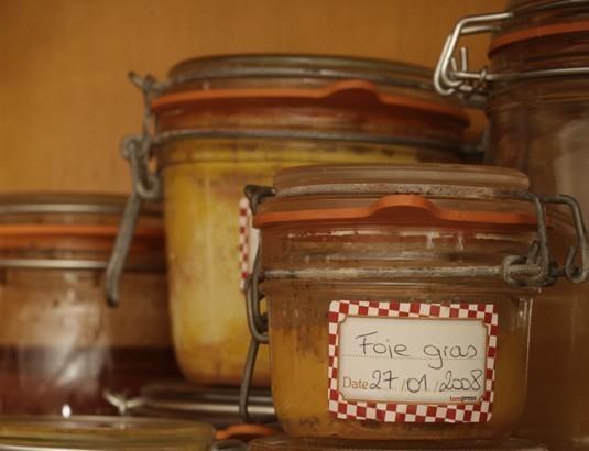 conserves de foie gras maison