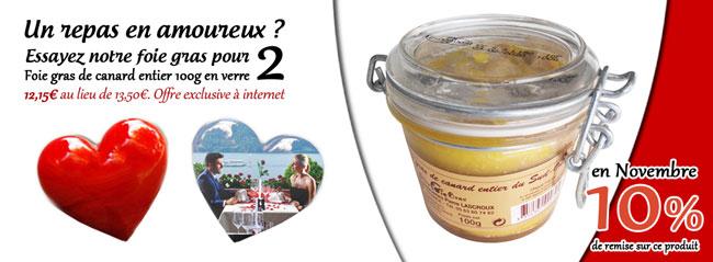 foie gras entier pour deux