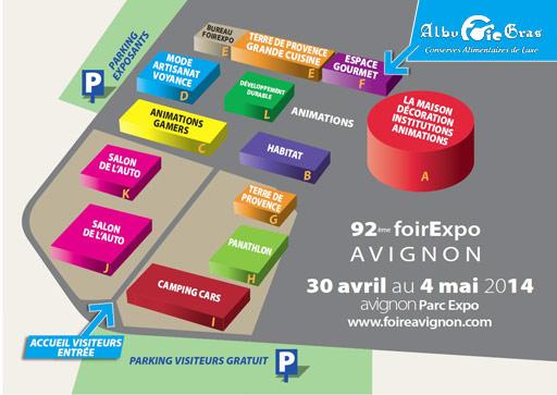 Alby foie gras présent à Avignon