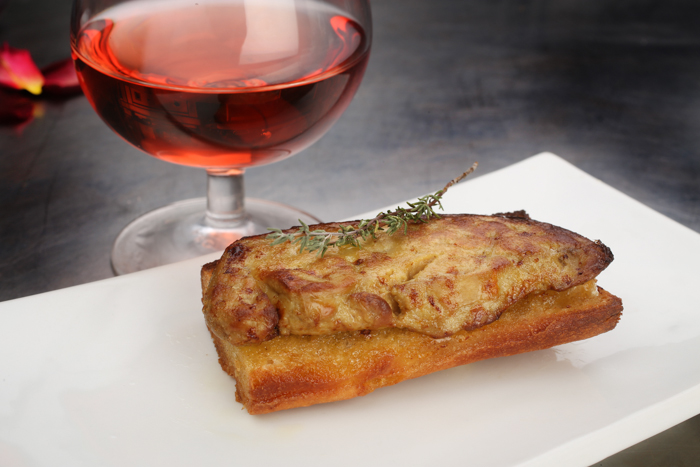 foie gras frais grillé