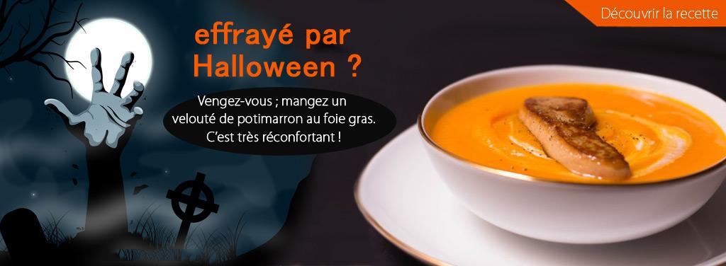 foie gras halloween