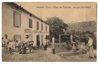 carte postale hotel du pont
